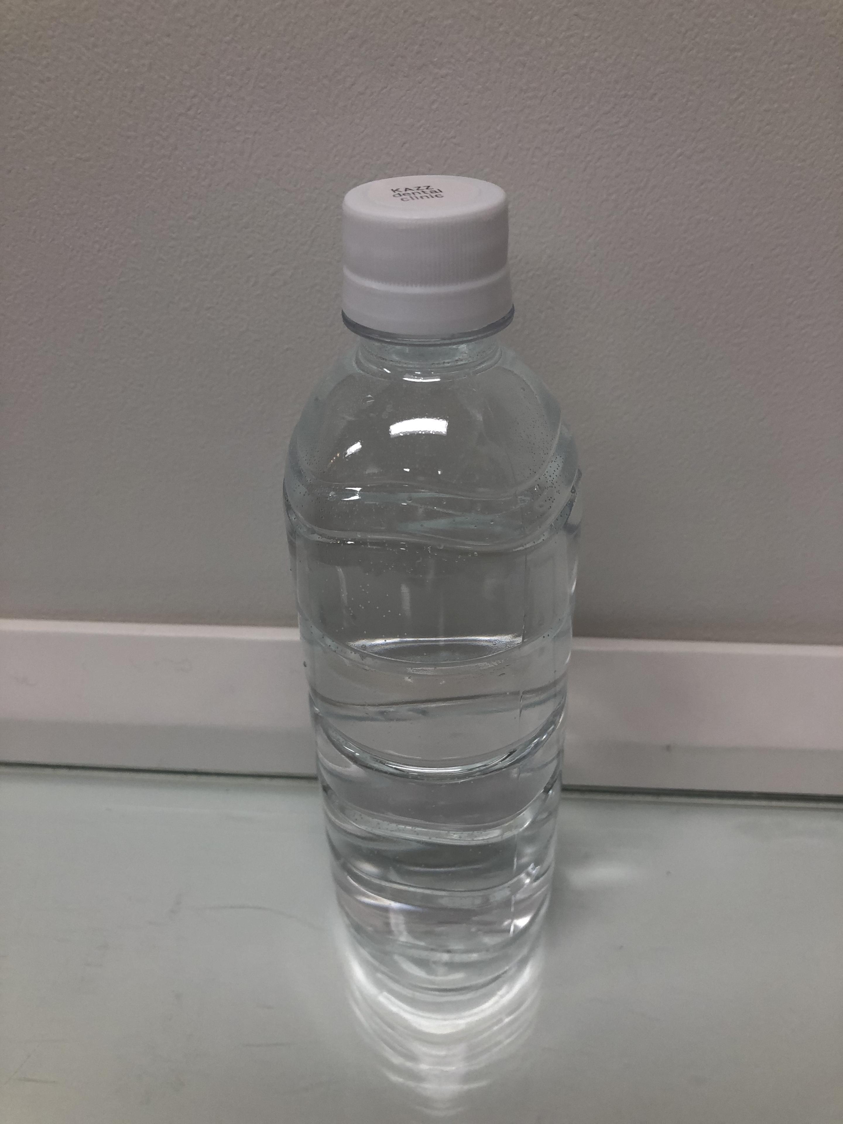 院内で次亜塩素水を使用しています